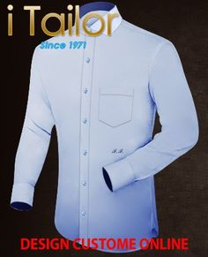 Design Custom Shirt 3D $19.95 hemden selbst gestalten Click itailor.de/... . . . . . der Blog für den Gentleman - www.thegentlemanclub.de/blog