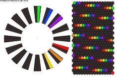 Kumihimo Bracelet, Bracelet Fil, Braided Friendship Bracelets, Friendship Bracelets Designs, Macrame Bracelet Patterns, Beaded Jewelry Patterns, Diy Bracelets Easy, Colorful Bracelets, Rainbow Crochet