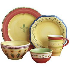 @Overstock - Pfaltzgraff Pistoulet dinnerware features brightly decorated designs from the south of FranceCasual dinnerware set has freely rendered flowers, vines and vegetables40-piece stoneware set provides service for 8http://www.overstock.com/Home-Garden/Pfaltzgraff-Pistoulet-40-piece-Dinnerware-Set/4387844/product.html?CID=214117 $249.99