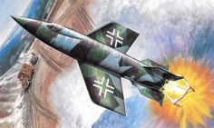 EMW A 4B, Piloted V-2 Rocket Project, by Stan Hajek