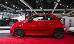 High Performance in LA with Fiat 500 Abarth Cabriolet! @MSNAutos @LAAutoShow