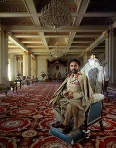 Emperor Haile Selassie I Ethiopia Africa 1958 | Arnold Newman