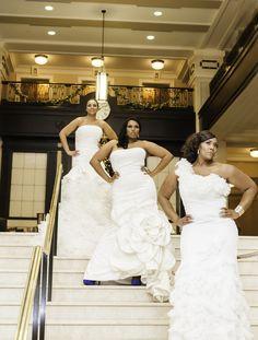 Plus Size Wedding Gowns from Pretty Pear Bride by Shafonne  Keywords: #plussizeweddinggowns #jevelweddingplanning Follow Us: www.jevelweddingplanning.com  www.facebook.com/jevelweddingplanning/
