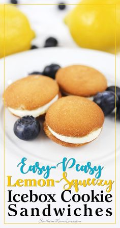 (ad) Summer is the perfect time for get-togethers and these easy-peasy (really!) lemon-squeezy (yum!) Icebox Cookie Sandwiches made with @NILLAWafers are perfect for a no-bake summer snack for a crowd. They're deliciously creamy and lemony + they're so easy, you'll want to make them over and over this summer. Plus, check out the awesome giveaway at the end of the post for your chance to win a gift card to @Walmart for everything you need to throw your own #NILLASummerParty! #IC