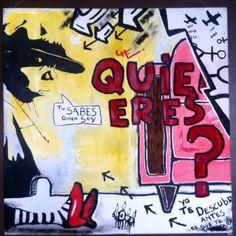 """Subconsciente"" by Chilean artist Cristobal Lagomarsino. 2009. 100x100cm #art #fromsouthamerica #artche www.artche.cl"