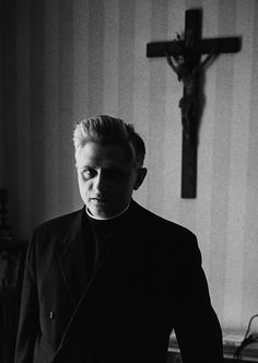 Young Joseph Ratzinger, 1965 // Benedict XVI. Wow so young and stylish!