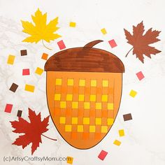 These Paper Weaving Fall Printables are perfect to strengthen and keep those little fingers busy this season! Also helps to improve concentration and hand-eye coordination in little kids. Craft Kits For Kids, Craft Activities For Kids, Preschool Crafts, Easy Fall Crafts, Fall Crafts For Kids, Kids Crafts, Paper Weaving, Weaving Art, Origami