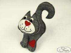 Filcowy kot / Felt Cat