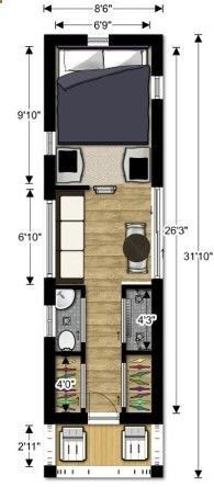 Container House - Plan your own tiny house! tiny house couples floor plan Tiny House Design - Who Else Wants Simple Step-By-Step Plans To Design And Build A Container Home From Scratch? Tiny House Plans, Tiny House On Wheels, House Floor Plans, Container Home Designs, Casas Containers, Shipping Container House Plans, Shipping Containers, Building A Container Home, Container Architecture