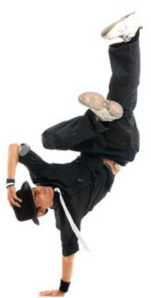 I know it is a shocker, but I use to break dance in the 80's.