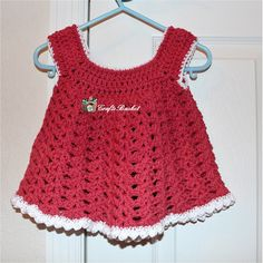 Little Crochet Summer Dress by CraftsBasket on Etsy