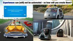 #futuristgerd keynote slide on #automated #experiences