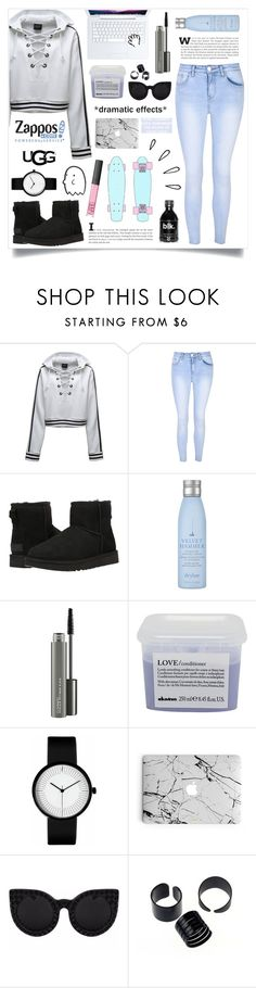 """""""The Icon Perfected: UGG Classic II Contest Entry (Tumblr Style)"""" by wwelover02 ❤ liked on Polyvore featuring Puma, Glamorous, UGG Australia, Drybar, MAC Cosmetics, Davines, Franklin, Delalle, Old Navy and tumblr"""