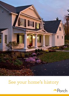 Want to see the history of your house? Click through to download your free home history report.