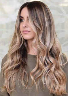 Are you looking for best balayage hair colors or highlights to show off in this year? Now need to worry, just visit this post for amazing looks of natural balayage hair colors to apply for various hair lengths and hair textures in Brown Ombre Hair, Ombre Hair Color, Cool Hair Color, Ombre Hair For Brunettes, Blonde Hair Colour, Natural Ombre Hair, Long Ombre Hair, Natural Brown, Balayage Hair Blonde