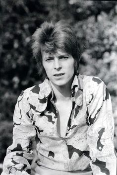 David Bowie, Photo @ Mick Rock, Circa 72