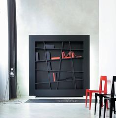 Best DIY Furniture & Shelf Ideas 2017 / 2018 ligne Roset Bookcase -Read More – Bookshelf Design, Bookcase Shelves, Bookcases, Shelving Units, Modern Shelving, Ligne Roset, Wood Furniture, Modern Furniture, Furniture Design