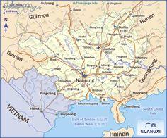 awesome Guangxi Map