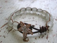Summer wrap bracelet Beachcomber Boho beach от 3DivasStudio