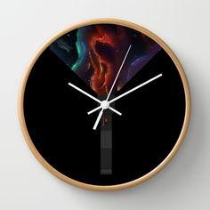 Space Lantern Wall Clock