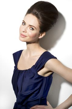 """Topic of the week: """"Elegant Bouffant""""! It's a classic, it never dates and when worn with a simple dress and subtle make-up it just gives so much elegance. #nivea #hair #style #elegant #bouffant"""