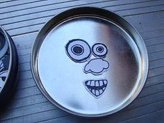 magnetic emotional faces...  print faces on magnetic sheets, cut and place them with altoid tins or other small tins for a car ride toy.