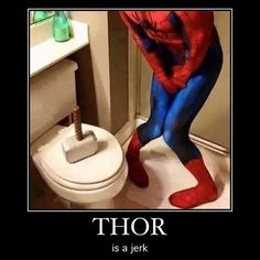 Thor just leaves his hammer everywhere. He doesn't care