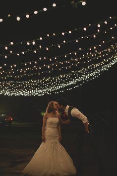 diy wedding lighting to spruce up your wedding reception http://www.weddingchicks.com/2013/10/17/tea-party-wedding/