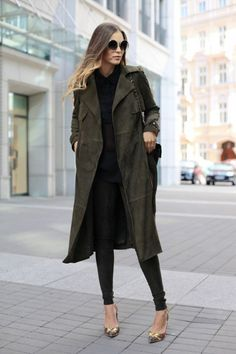 Winter Office Outfit Idea