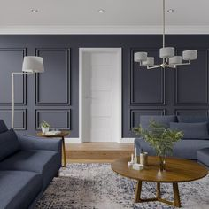 Living Room Panelling, Wall Panelling, Interior Wood Paneling, Modern Wall Paneling, White Wall Paneling, Planked Walls, Wood Wainscoting, Oak Fire Doors, Living Room Designs