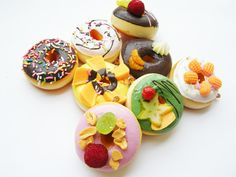 Yummy Donut Toppings #food