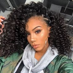 Curly Wigs For African American Women The Same As The Hairstyle In The Picture - Wigs For Black Women - Lace Front Wigs, Human Hair Wigs, African American Wigs, Short Wigs, Bob Wigs Crochet Braids Hairstyles, Braided Hairstyles, Black Hairstyles, Hairstyles 2016, African Hairstyles, Teenage Hairstyles, Amazing Hairstyles, Wedding Hairstyles, Medium Hairstyles