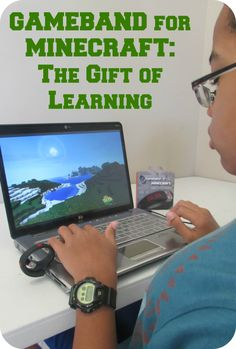 Gameband for Minecraft: The Gift of Learning #GameOnTheGo #ad