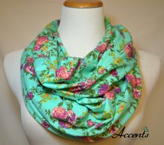 Check out this item in my Etsy shop https://www.etsy.com/listing/209011273/chartreuse-purple-floral-on-aqua-green