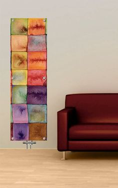 Contemporary Glass Radiators for Central Heating System, how pretty.