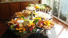 Buffet by Butler For Hire Catering & Personal Chef -this is my Brother! He is amazing!