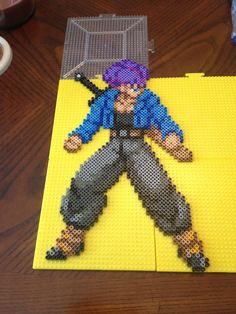 Trunks Dragon Ball Perler Bead Sprite by jnjfranklin on deviantART