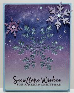 Simple Christmas Cards, Christmas Minis, Christmas Snowflakes, Xmas Cards, Holiday Cards, Box Of Sunshine, Snowflake Cards, Paper Pumpkin, Winter Cards