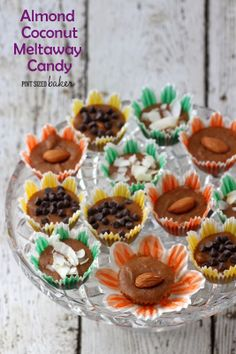Almond Coconut Meltaway Candy - Pint Sized Baker