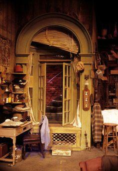 """Thousand Clowns"" Window Detail of Set Rick Romer, Designer Design Set, Set Design Theatre, Stage Design, Window Detail, Dramatic Arts, Theatre Stage, Stage Set, Scenic Design, Architecture"
