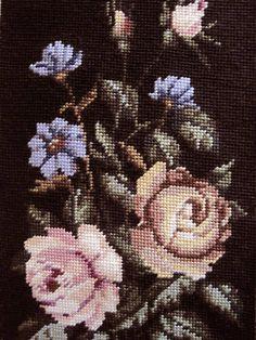 Hand Needlepoint Wool Canvas