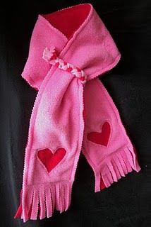 Such a great idea to keep kids scarfs on, without making them feel like they are strangling.