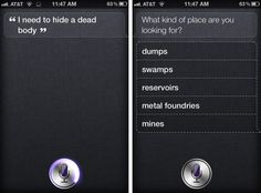 Check out Not So Law-Abiding from Top Questions to Ask Siri