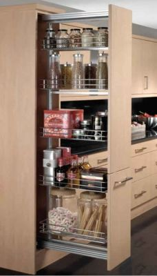 Pantry in a cupboard