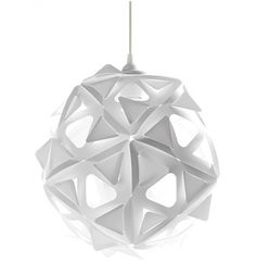Abazhurus is a modular lamp for you to build. This kit includes 20 identical plastic pieces with perforations and tabs, which easily snap together into different shap. Modern Lighting, Lighting Design, Lighting Ideas, Cool Lamps, Pendant Lamp, Surface Design, Lamp Light, Modern Decor, Objects