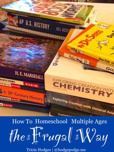 How to Homeschool Multiple Ages the Frugal Way