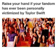 Ok good so now we now know how other fandoms feel. Let us all come together and- LOL jk noooooo!!! Every fandom for its self!!!