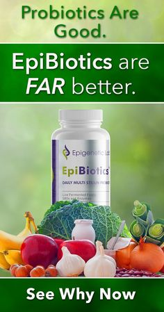 Want a probiotic supplement blend you won't find anywhere else in the world? Epibiotics, which contains THREE amazing components to improve your digestions, strengthen your immune system, and restore healthy bacteria in your gut is like no other probiotic in the world! Click on the image above to read all about it! Please re-pin. Together we are saving lives everyday. <3