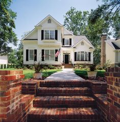 Wharton - Home Plans and House Plans by Frank Betz Associates