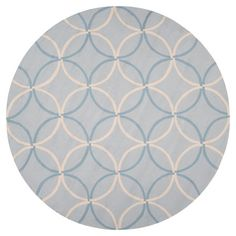 I pinned this Circus 8' Round Rug in Pale Blue from the Runners, Rounds & Squares event at Joss and Main!